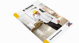 Trucking brochure